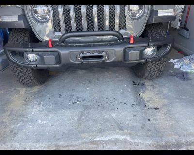 California - JL Rubicon steel front bumper