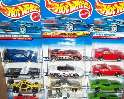 100's of Hot Wheels and Matchbox Vehicles, eMail me for link with pictures.