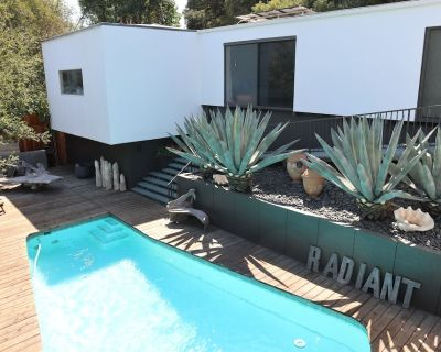 Mid-Century Modern, Zen Hideaway Hillside Home W/ Private Canyon View. - North Arroyo