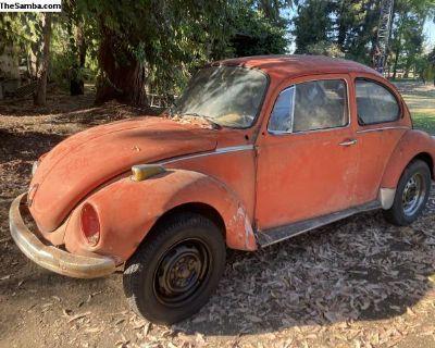 1973 Super Beetle Autostick Project Or Parts