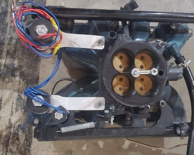 Vic jr, accifab 4150, nitrous outlet puck. Nx stand alone