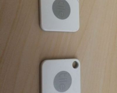 Two Tile Bluetooth Trackers