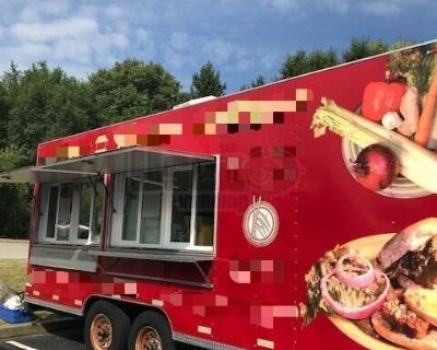 Well-Maintained 2013 - 8' x 20' Mobile Kitchen Food Concession Trailer