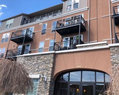 The Best of Downtown Golden Living in a Spacious 2 Bedroom Condo Beside the Creek!