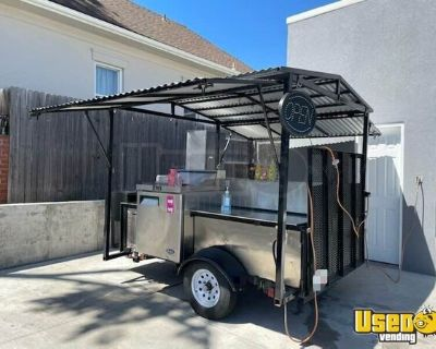 State Inspection Approved Food Concession Cart / Hot Dog Vending Cart