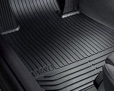 Bmw Oem All Weather Floor Mats Front (beige) F10 5 Series New With Warranty