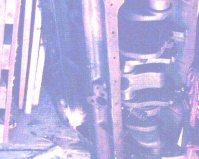 1939 Packard (Engine-Block) 6 cylinder