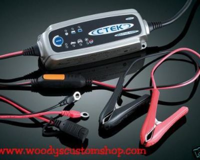Battery Charger/maintainer Fits Porsche Cayman Cayenne Charges Via Power Port