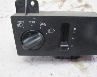 1996 Jeep Laredo Headlight Dimmer Control Switch Oem 24442