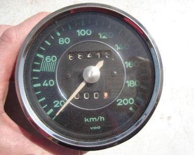 Porsche 356 Speedometer Kmh Kph Speedo Vdo Speedo