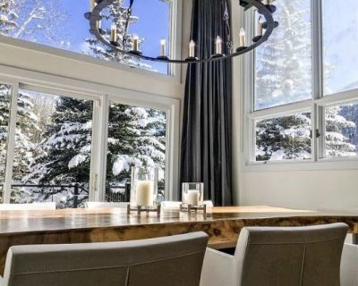 Luxurious, Cozy East Vail Duplex with Gorgeous Mountain Views - Newly Remodeled - Vail