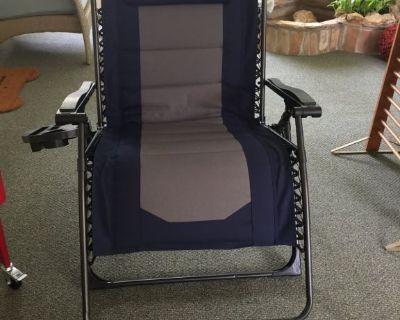 Zero gravity chair, Brand New