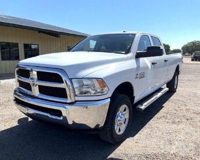 2015 RAM 3500 ST Crew Cab Long Bed 4WD