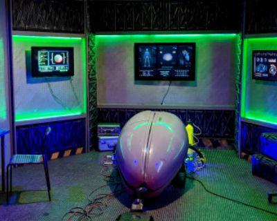SPACE POD CRYO LAB SLEEP STUDY Sci FI Medical Bunker Area 51 Underground Nasa Alien Study, Burbank, CA