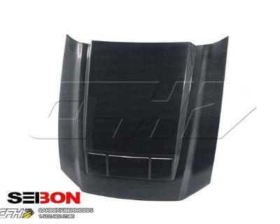 Seibon Carbon Fiber Ts-style Carbon Fiber Hood Kit Auto Body Ford Mustang, Shelb