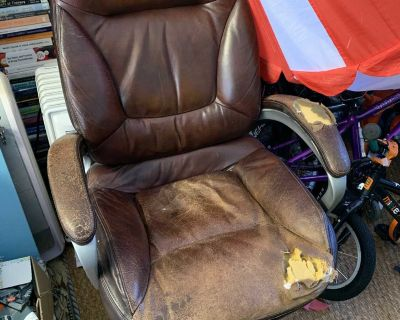 Free leather office chair!