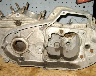 1977 Harley Ironhead Sportster Xl Xlch 1000 Xl1000 Xlh Engine Cases Motor