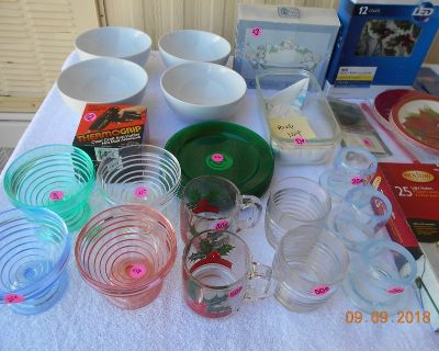 Misc. Xmas and Household Items Box 104