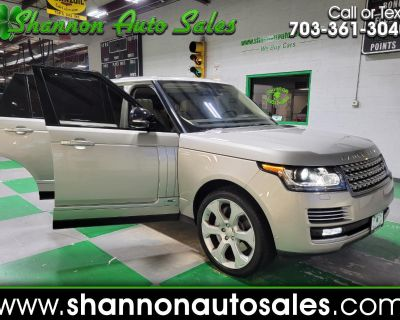 Used 2015 Land Rover Range Rover 4WD 4dr Autobiography LWB