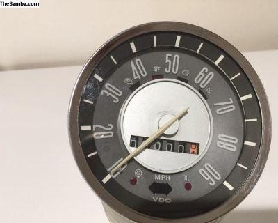 1970 Speedo Karmann Ghia speedometer