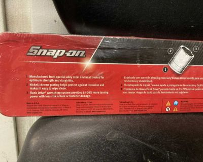 Snap On 1/3 drive socket set 13 pieces