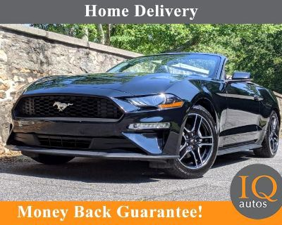 Used 2018 Ford Mustang EcoBoost Premium Convertible