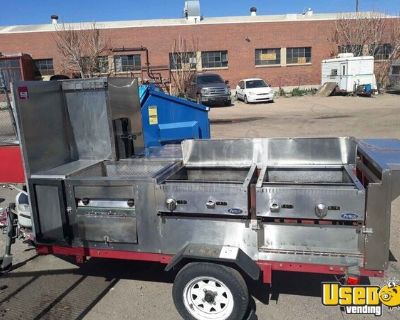Well-Equipped Used 2016 Mobile Food Vending Concession Cart