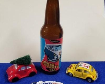 Bundle of Small Collectibles & Beer Bottle