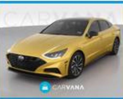 2020 Hyundai Sonata Yellow, 17K miles