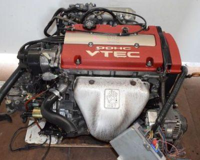 Jdm 1997-01 Honda Accord Prelude H22a Euro-r Dohc Vtec 2.2l Engine Lsd 5sd Trans