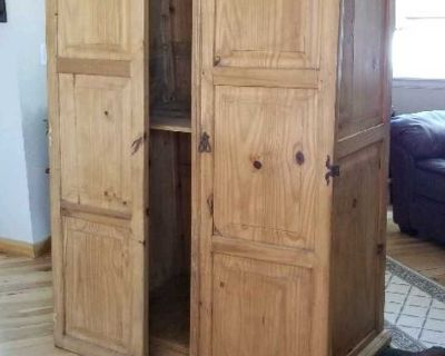 FREE Wood Armoire