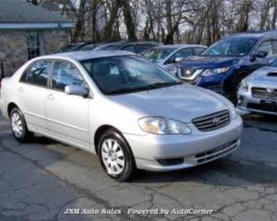 2004 Toyota Corolla LE Manual