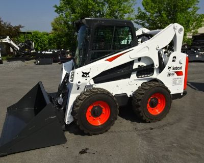 2017 Bobcat S740 Skid-Steer Loader - A91 HIGHFLOW HYD PACKAGE - 12x16.5 Heavy Duty Flotation Tires - 74 HP Turbo-Charged Bobcat Diesel Engine (Tier 4) - 2 SPEED W/STANDARD CONTROLS