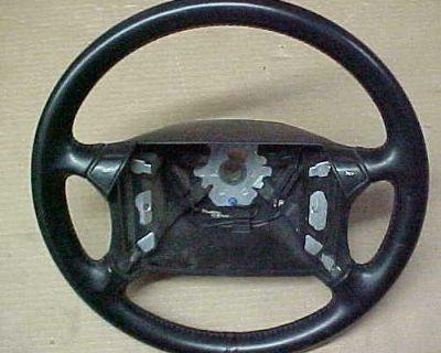 Porsche 911 964 4 Spoke Steering Wheel Black Leather