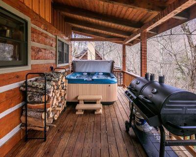 Cozy Bear Cabin: Hot Tub, Foosball, Pool Table, Gas Grill, Wood Place, Sleeps 8, Last Minute Disc - Seven Devils