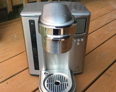 Breville Stainless Steel Gourmet K-Cup Coffee Maker - Works Perfectly