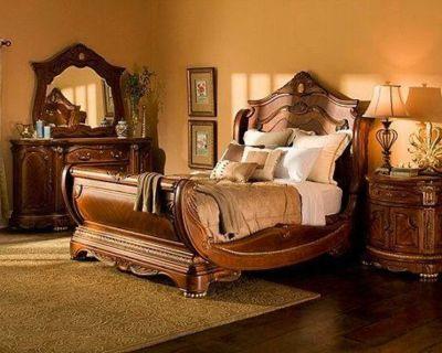 Elegant bedroom set.