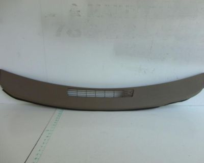 00-05 Chevy Impala Dash Upper Front Pad Defrost Vent Grill Panel W/sensor Hole
