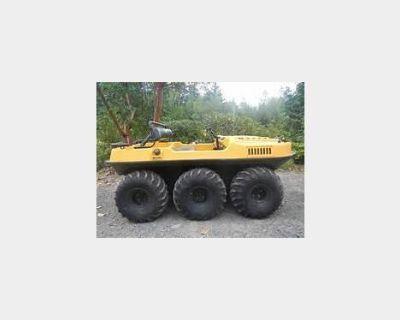 Wanted: Amphibious atv vehicle, argo, terra-tiger, Max, etc
