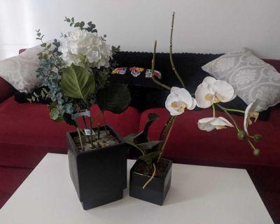 Faux Flowers Decor