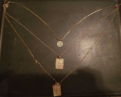 3 layered necklaces
