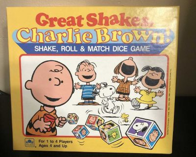 Great Shakes Charlie Brown Game