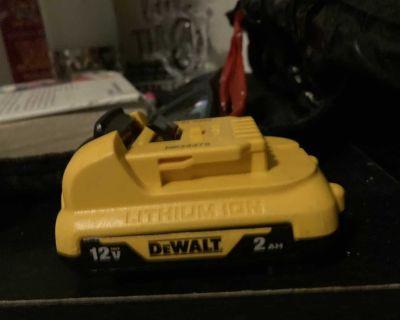 Dewalt 12 volt lithium battery