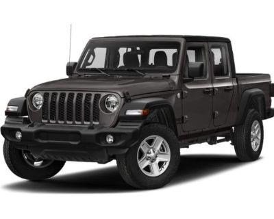 New 2021 Jeep Gladiator Willys 4x4 Truck Crew Cab