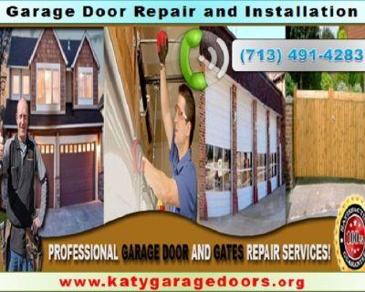 Top New Garage Door Installation Repair ($25.95) Katy, TX