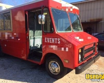 Ready to Roll 20' Chevrolet Step Van Mobile Kitchen Food Truck