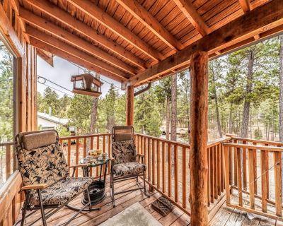 The beautiful woods surrounding Moose Manor are calling you to the Sacramento Mo - Ruidoso
