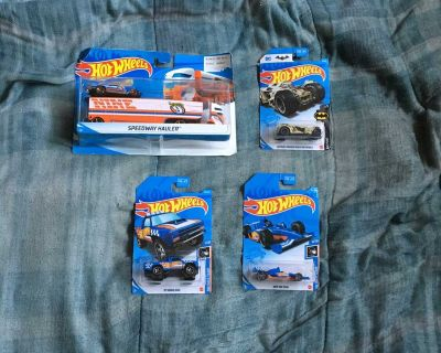 Lot Of 4 Hot Wheels Toys