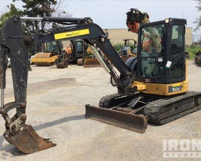 John Deere 50G Mini Excavator
