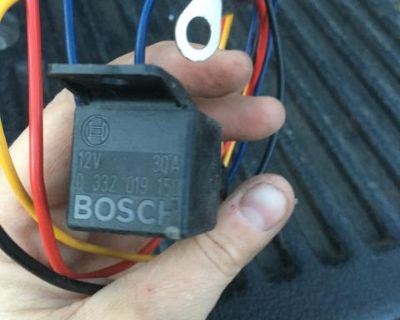 Multi Use Bosch Relay With Inline Fuse 12v